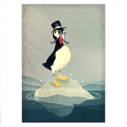 Lord Puffin - Duvet Covers