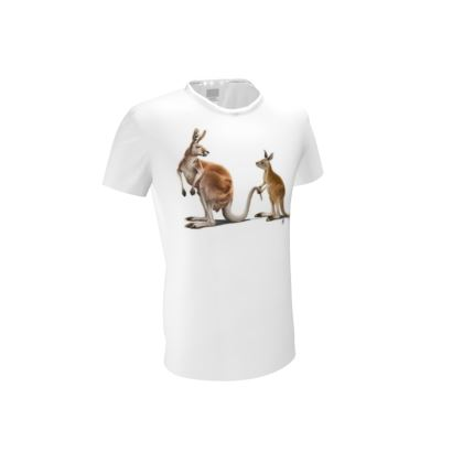Being Tailed ~ Wordless Animal Behaviour Cut and Sew T Shirt