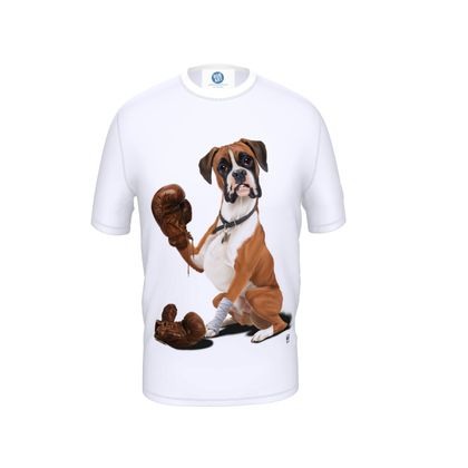 The Boxer ~ Wordless Animal Behaviour Cut and Sew T Shirt