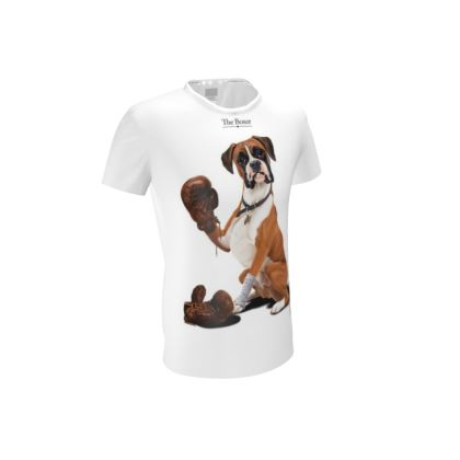 The Boxer ~ Title Animal Behaviour Cut and Sew T Shirt