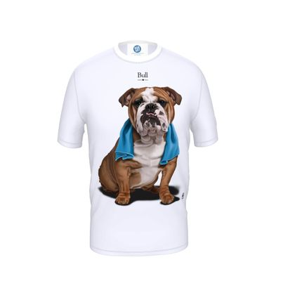 Bull ~ Title Animal Behaviour Cut and Sew T Shirt