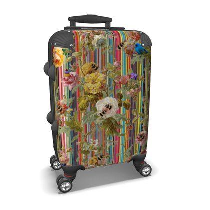 Summer Garden Suitcase