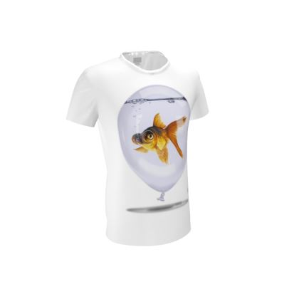 Inflated ~ Wordless Animal Behaviour Cut and Sew T Shirt
