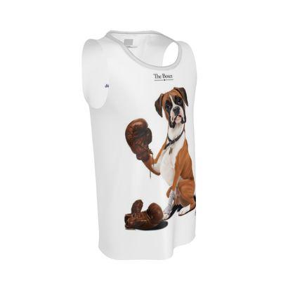 The Boxer ~ Title Animal Behaviour Cut and Sew Vest