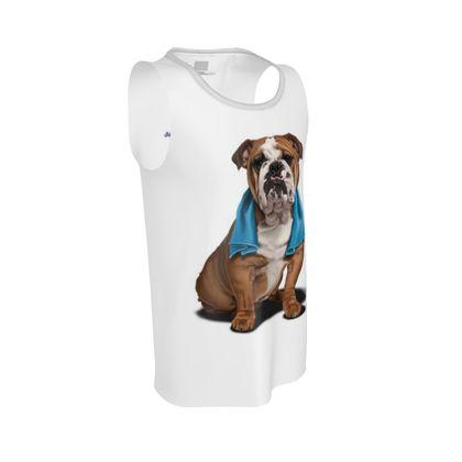 Bull ~ Wordless Animal Behaviour Cut and Sew Vest