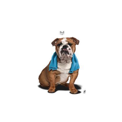 Bull ~ Title Animal Behaviour Cut and Sew Vest