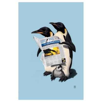 Read All Over ~ Colour Animal Behaviour Art Print