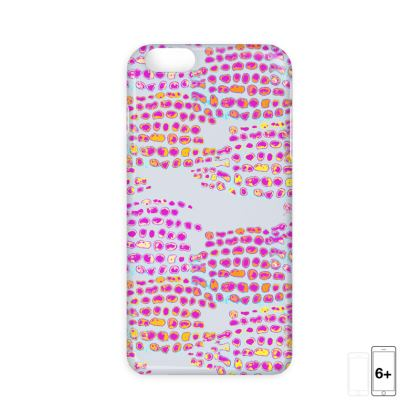 Textural Collection in grey and magenta IPhone Cases