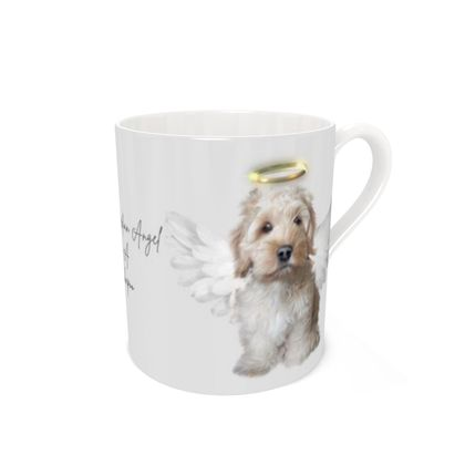 Cockapoo Guardian Angel Bone china mug