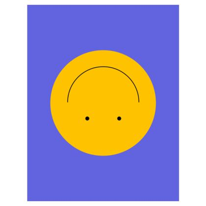 Smile? Art Print
