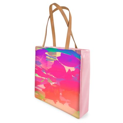 Peachy in Pink Beach Bag