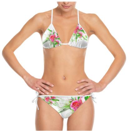 Bikini - Pastells white