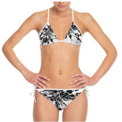 Bikini - Black ink white