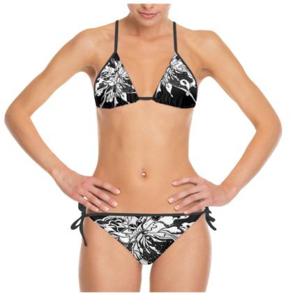 Bikini - White ink black