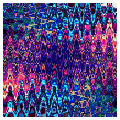 Skirt Purple Splashes