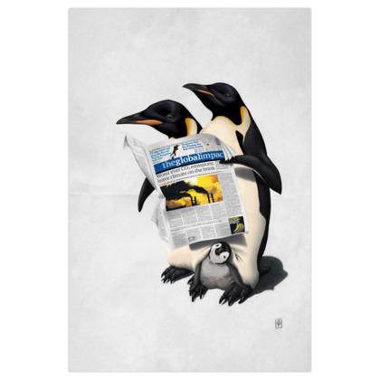 Read All Over  ~ Wordless Animal Behaviour Art Print