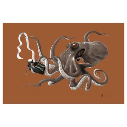 Count to Ten ~ Colour Animal Behaviour Art Print