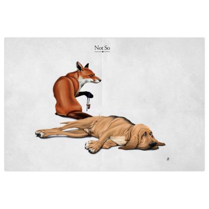 Not So ~ Title Animal Behaviour Art Print