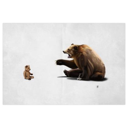 Brunt ~ Wordless Animal Behaviour Art Print