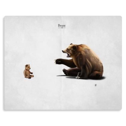 Brunt ~ Title Animal Behaviour Metal Print