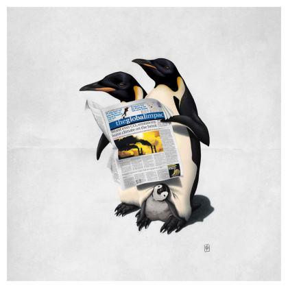 Read All Over ~ Wordless Animal Behaviour Cushion