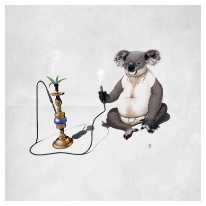 What a Drag ~ Wordless Animal Behaviour Cushion