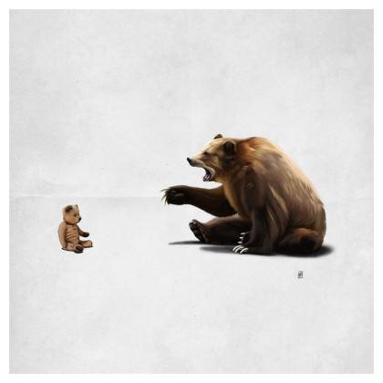 Brunt ~ Wordless Animal Behaviour Cushion