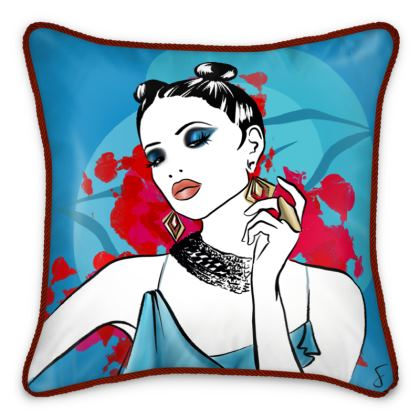 Fire And Ice Cushion