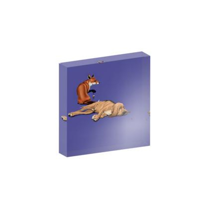 Not So ~ Colour Animal Behaviour Acrylic Block