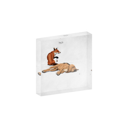 Not So ~ Title Animal Behaviour Acrylic Block