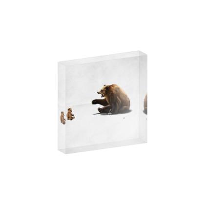 Brunt ~ Wordless Animal Behaviour Acrylic Block