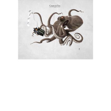 Count to Ten ~ Title Animal Behaviour Art Postcard
