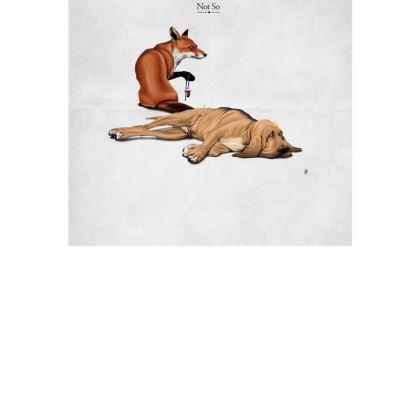 Not So ~ Title Animal Behaviour Art Postcard