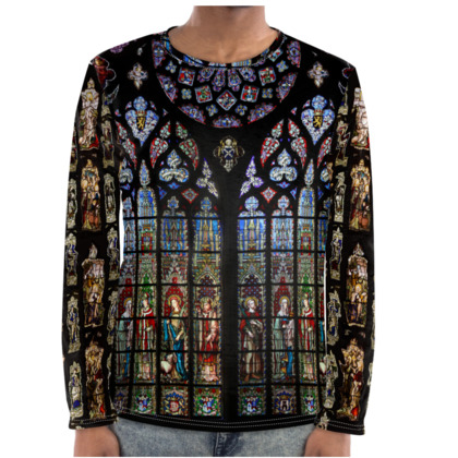 Stained Glass Long Sleeve Shirt