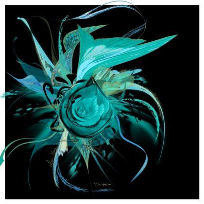 Serving Platter - Uppläggningsfat - Turquoise black