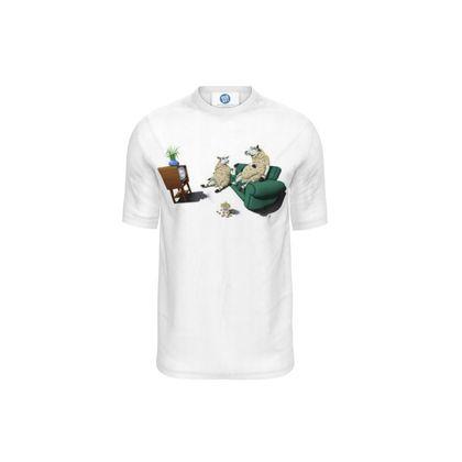 Sheep ~ Wordless Animal Behaviour Cut and Sew T Shirt