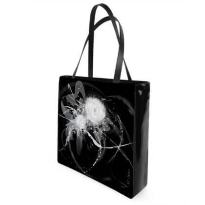 Shopper bag - Shopping väska - Black and white