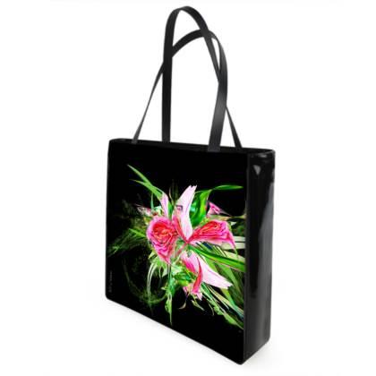 Shopper bag - Shopping väska - Pastells black