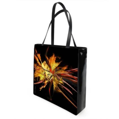 Shopper bag - Shopping väska - Fire black