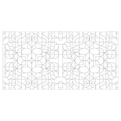Curtains - Kaleidoscope lines