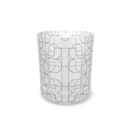 Whisky Glass - Geometric Kaleidoscope