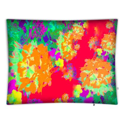 Hydrangea Harmony Giant Floor Cushion