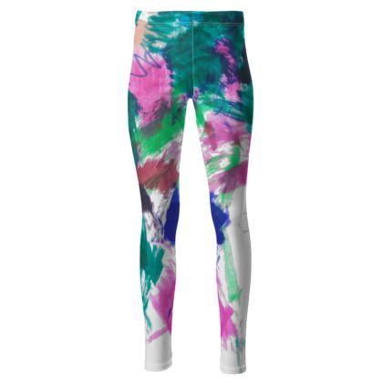 Multicolour High Waisted Leggings