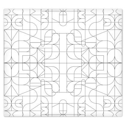 Bed Sheets - Kaleidoscope Lines