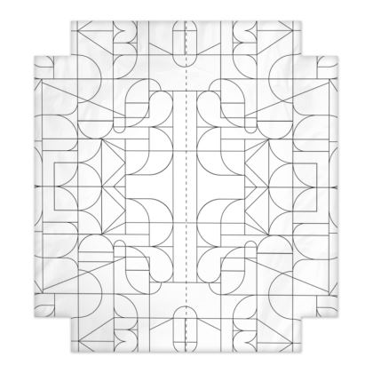 Fitted Sheets - Kaleidoscope Lines