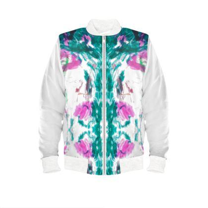 Subtle Multicolour Ladies Bomber Jacket