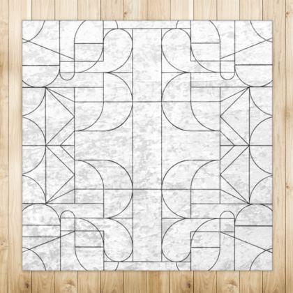 Rug - Kaleidoscope Lines