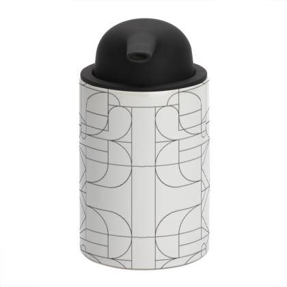 Soap Dispenser - Kaleidoscope lines