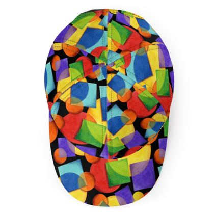 Candy Rainbow Geometric Baseball Cap