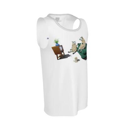 Sheep ~ Wordless Animal Behaviour Cut and Sew Vest